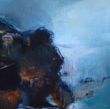 Under The Same Moon, The Ordinary Dark, Oil on canvas