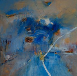 1010 Exhibition, Atmospheric, Oil on canvas