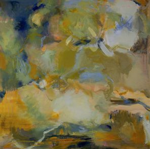 1010 Exhibition, 1010 Combined painting by Jan Cristaudo & Anne Spencer, Oil on canvas