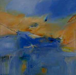 1010 Exhibition, Coastal, Oil on canvas