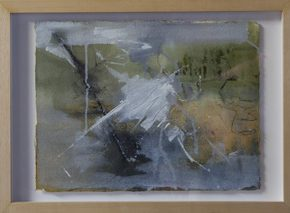 1010 Exhibition, Slowtide, Oil/charcoal on paper