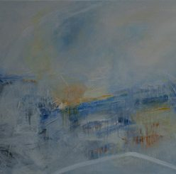 1010 Exhibition, My Playground In The Clouds, Oil on canvas