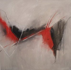 Sicily And Stone, Freddo, Oil on canvas