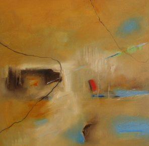 Sicily And Stone, Colori Di Sicilia, Oil on canvas