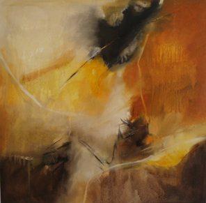 Sicily And Stone, Il Passaggi 2, Oil on canvas