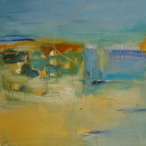 Sicily And Stone, Mondello, Oil on canvas