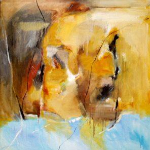 Sicily And Stone, Esperia, Oil on canvas