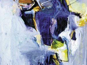Kelman Exhibition 1, The Grotto, Oil on canvas